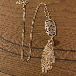 Silver and gold Kendra Scott Necklace